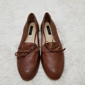 Zara Basic Collection Leather Loafers,36 Spain.